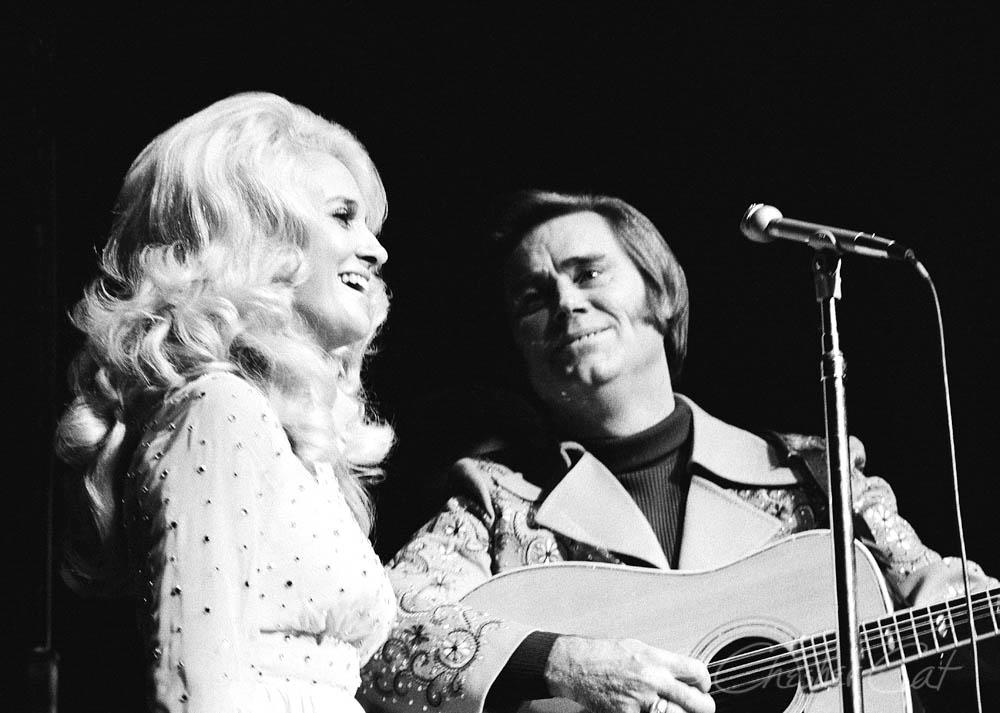 Tammy Wynette and George Jones