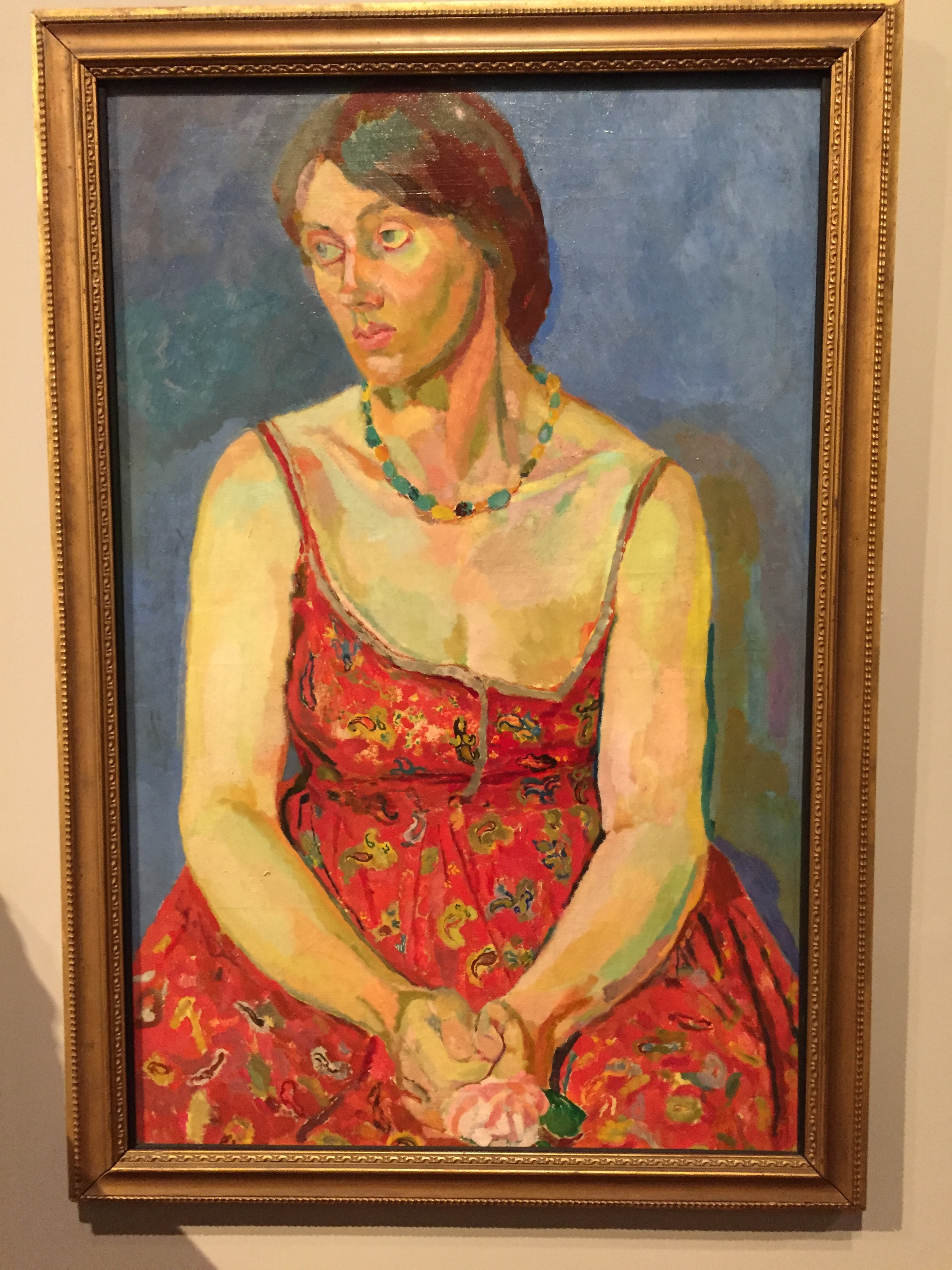 Vanessa Bell painted by Duncan Grant