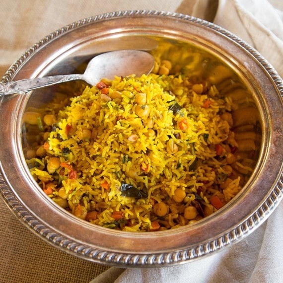 Middle Eastern Roasted Vegetable Rice - From Uttarakhand, State of India