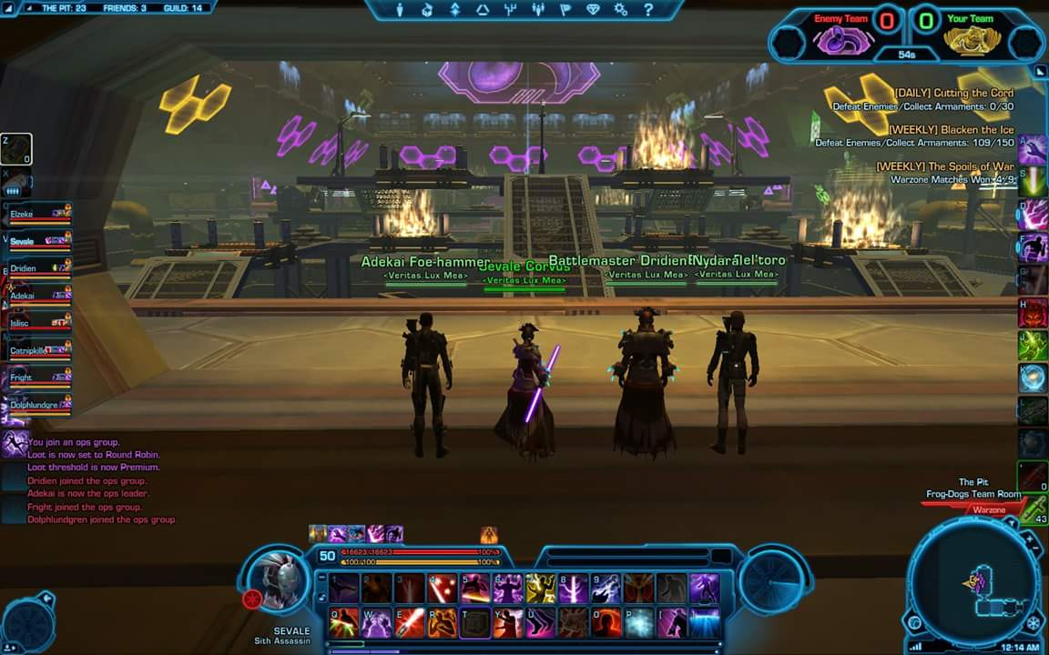 Star Wars: The Old Republic (SWTOR), Danielle Rivera screen shot