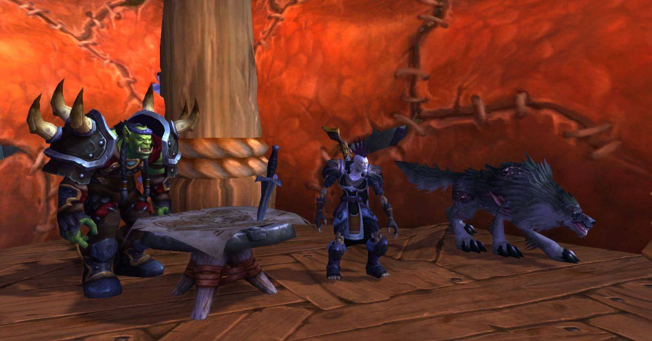 World of Warcraft Undead Beastmaster Hunter screenshot, shared by Kenny Royal Hupp, INTP