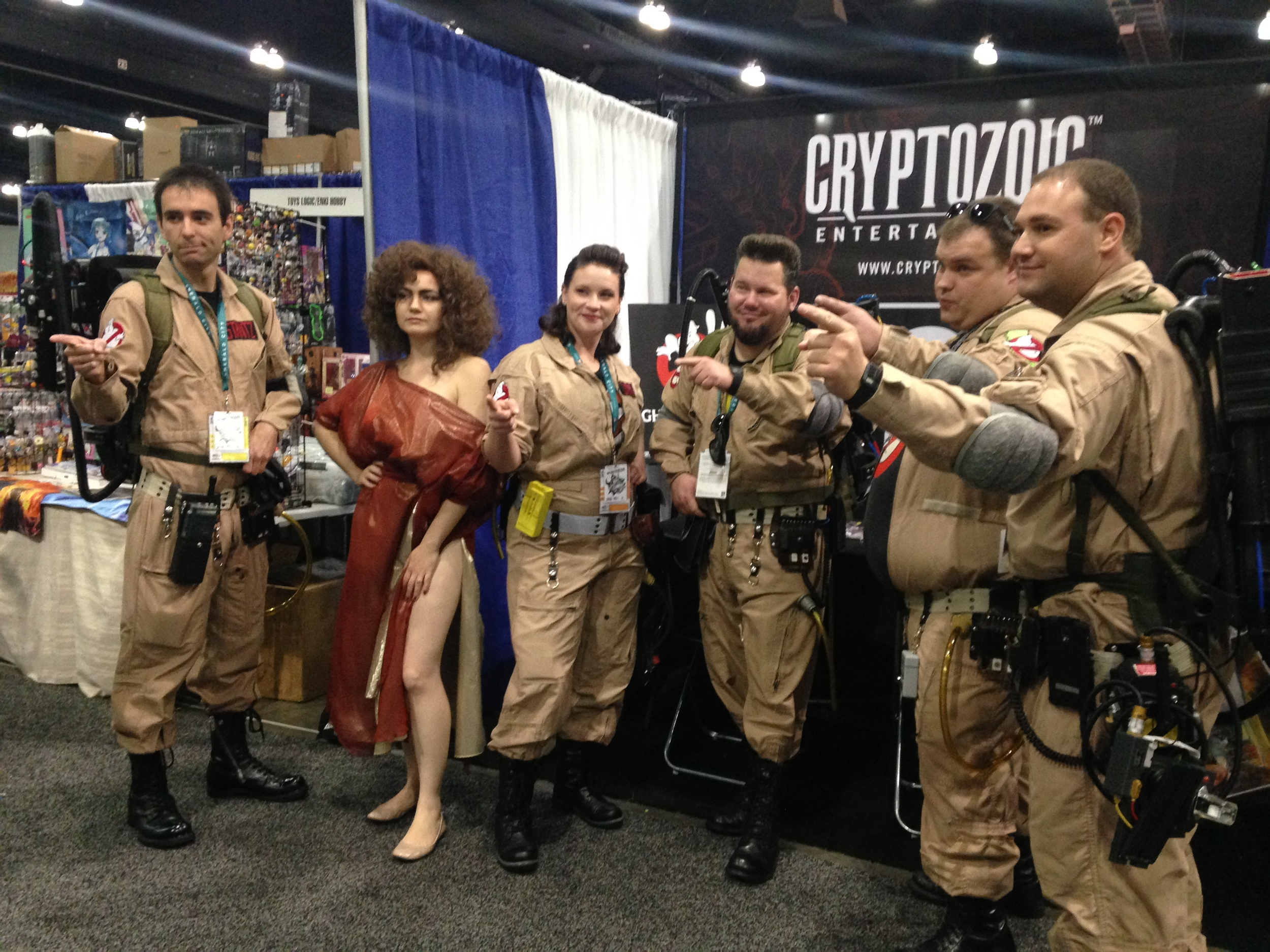Ghostbusters cosplay