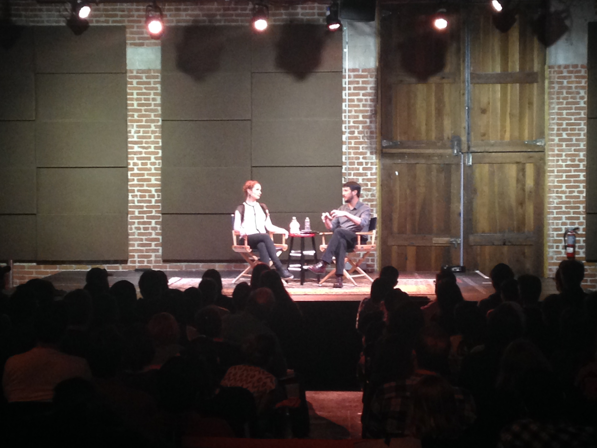 Wil Wheaton interviewing Felicia Day