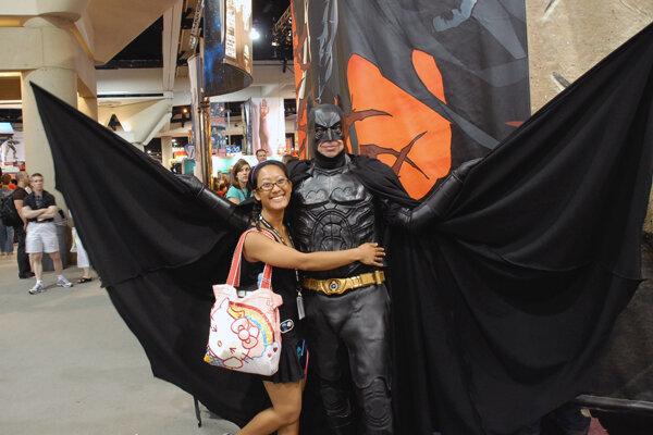 Batman, one of my heroes, San Diego Comic-Con 2006
