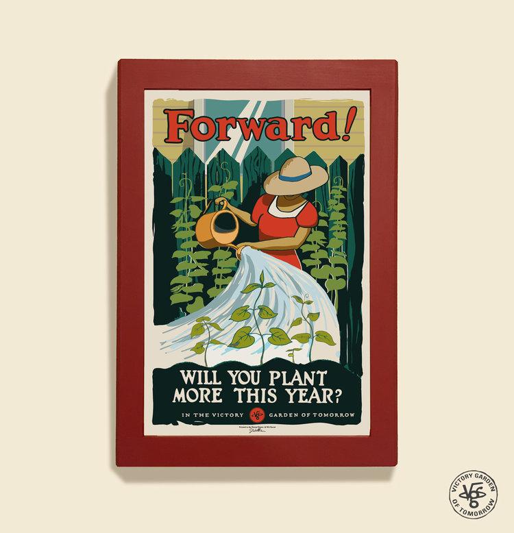 """Forward!"" 12x18 poster"