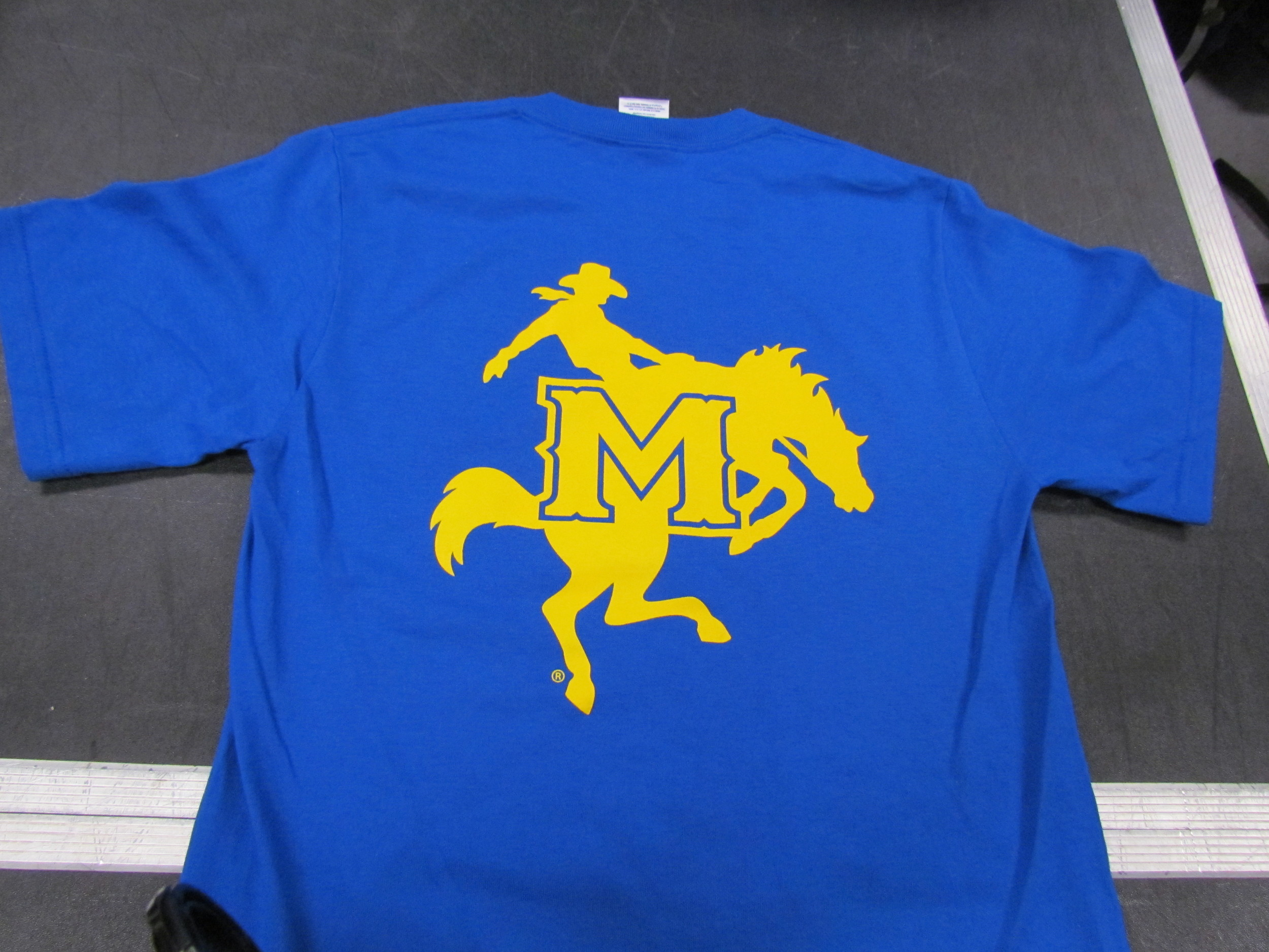 Royal Blue Marching Band T-Shirt (back)