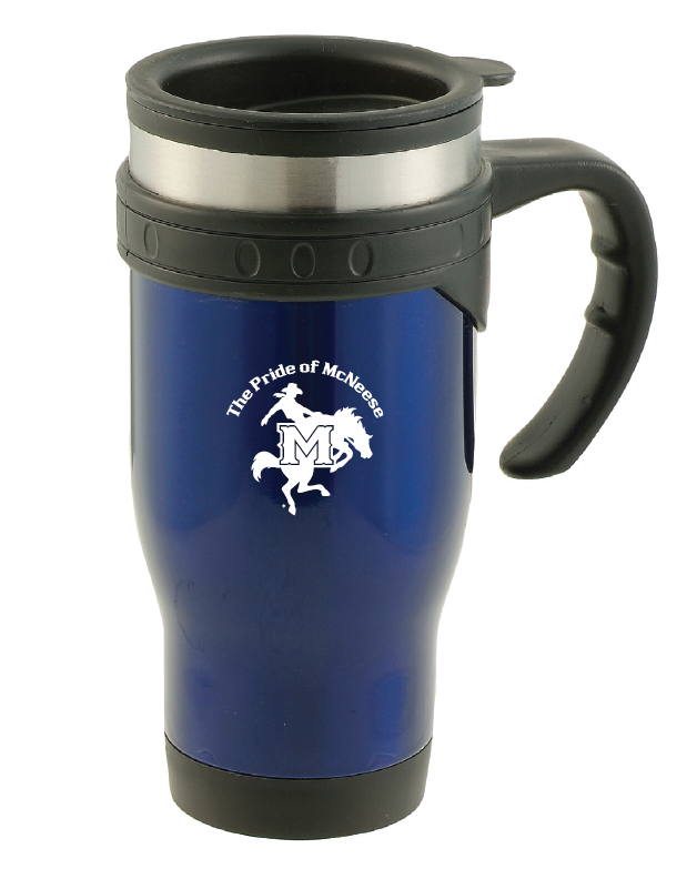 16oz Stainless Steel commuter mug