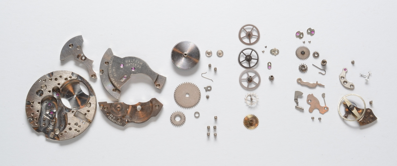 Disassembled Waltham AS/ST1686