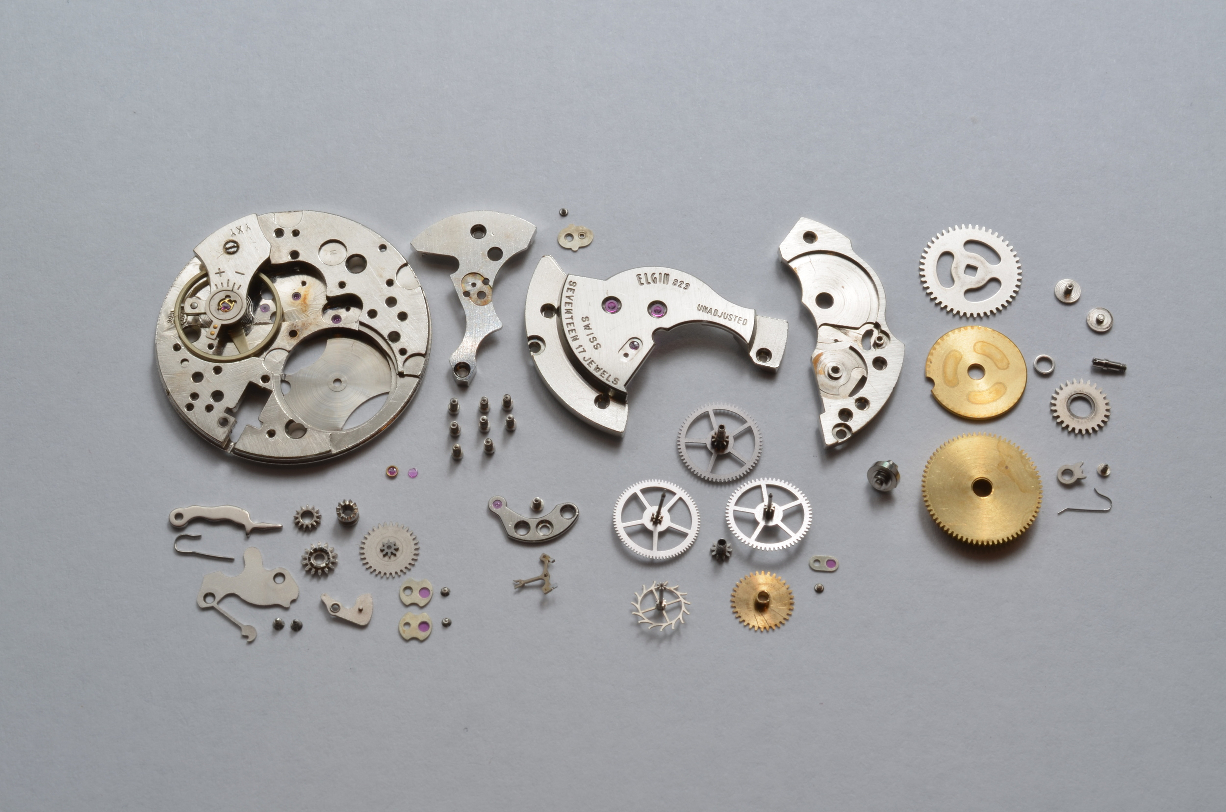 Inspect cleaned parts. Replace worn or broken parts.