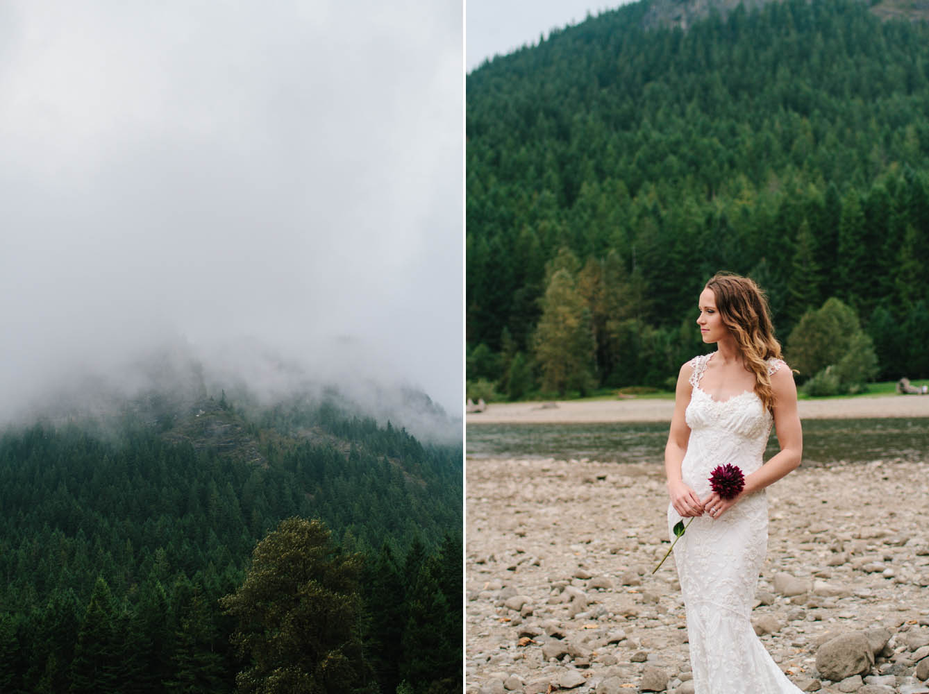 Seattle mountain wedding, elopement in washington state, northwest inspired, jess hunter photography, jessica hunter, woodland wedding photographer,