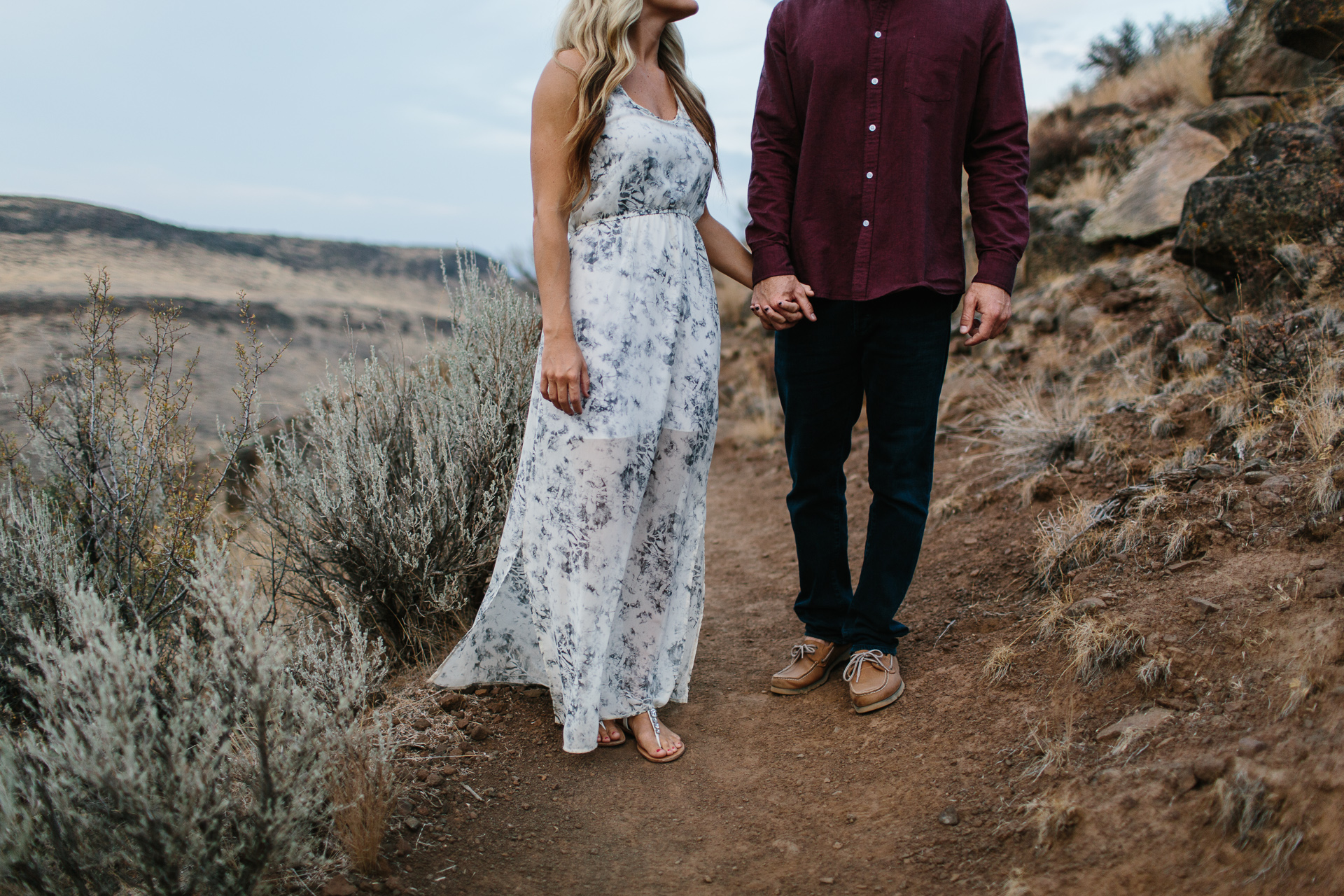 engagement photos in Eastern Washington by Jess Hunter, intimate wedding photographer in Washington state, Seattle elopement photographer, emotive portrait photography, artistic wedding photography, Pacific Northwest elopement photographer, desert engagement session, engagement outfit inspiration, photography by Jess Hunter - Jessica L Hunter