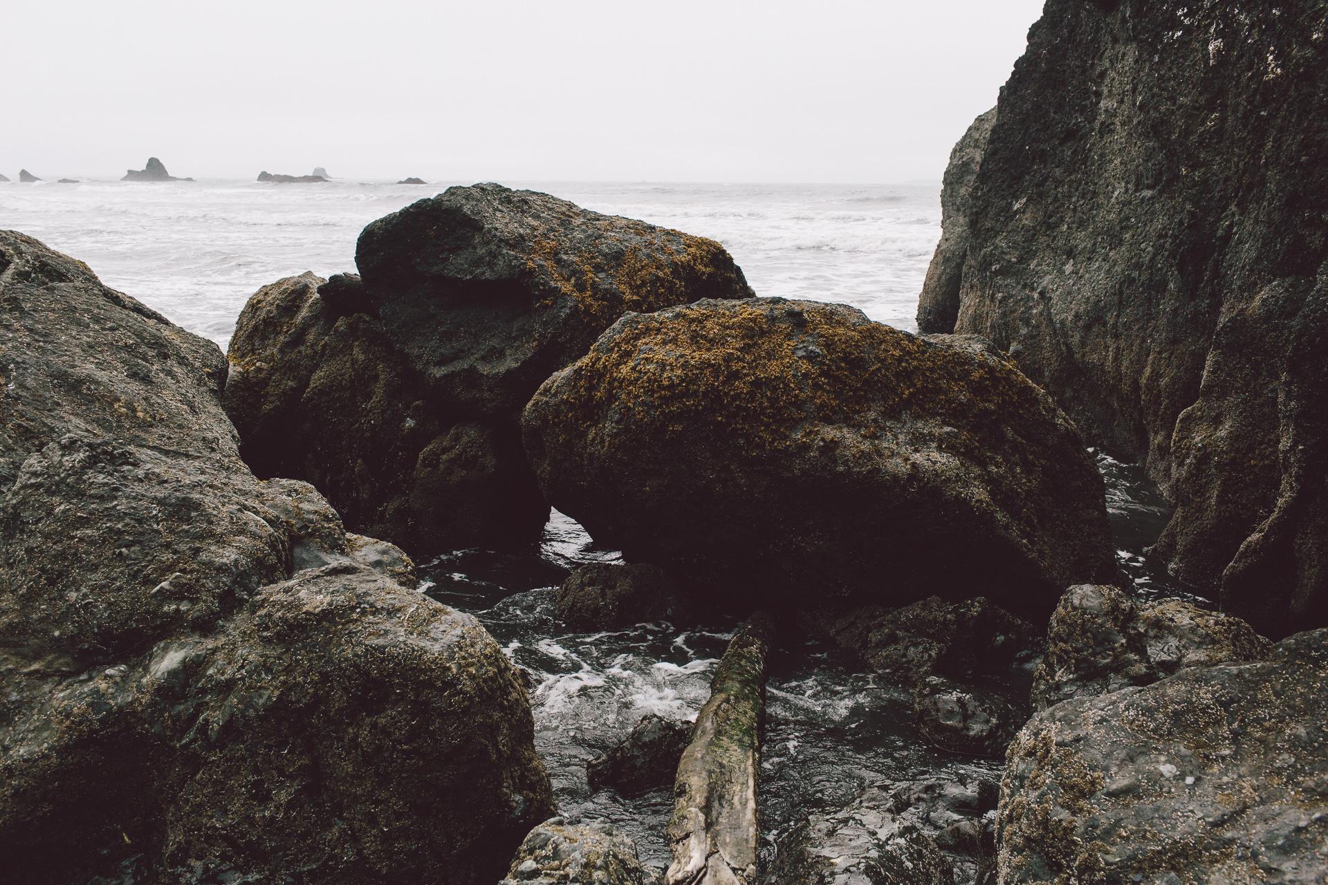 photography by Jess Hunter, Ruby Beach in Olympic National Park, Washington coast elopement location, Seattle intimate wedding photographer, explore Washington state, Olympic Peninsula travel photography, places to elope in the Olympic National forest, Pacific Northwest