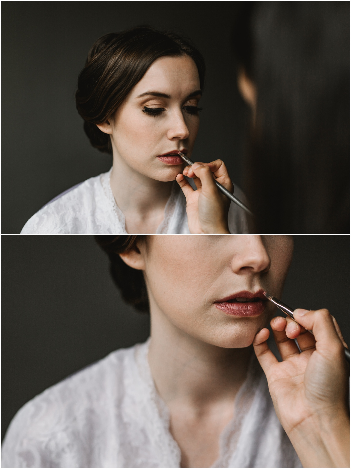 Intimate Portland Oregon wedding photographed by Jess Hunter, stylish air bnb in Portland for bride getting ready, creative Pacific Northwest photographer, Portland Oregon hair and makeup artist Bloosom and Beauty