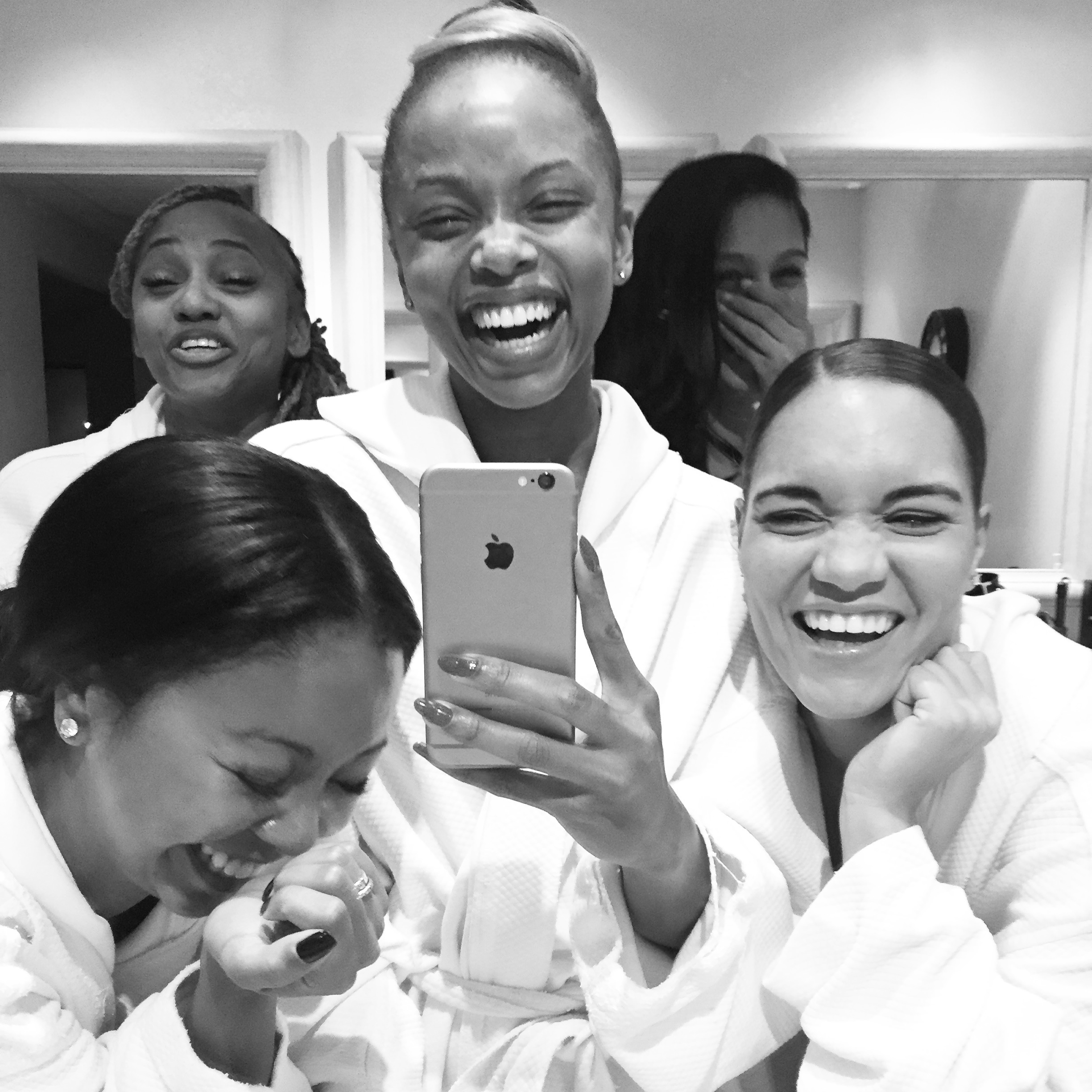 Burke Williams Day Spa with the girls!