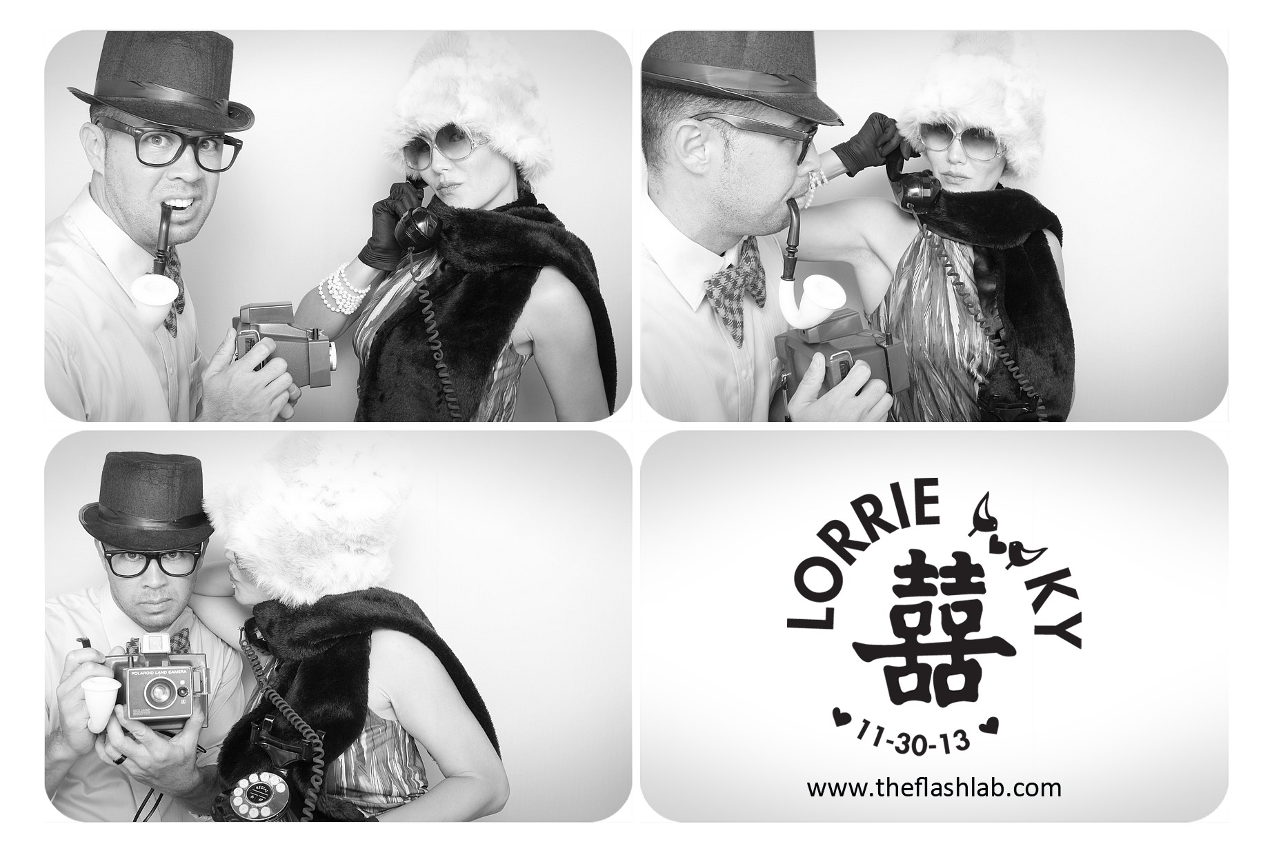FlashLab Wedding Photo Booth