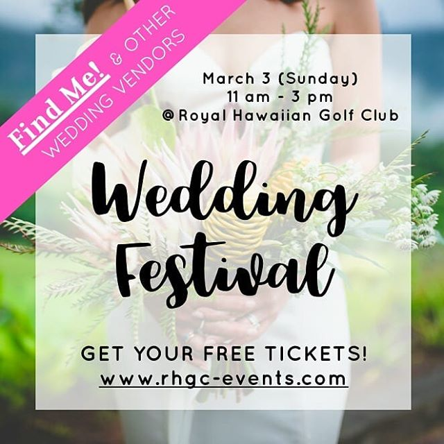 Coming up soon! It's going to be a fun event...and free! @royalhawaiiangolfclub #flashlab #flashlabphotobooth #oahuweddings #oahuparties #destinationwedding #tropicalwedding #hawaiiweddings #luxuryphotobooth #boutiquephotobooth #props #cos