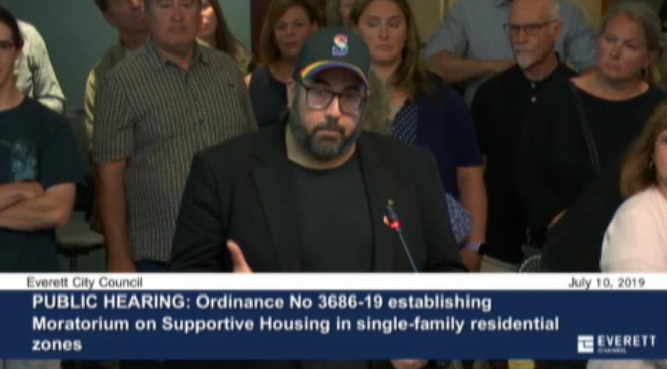 Standing up for homeless kids on July 10, 2019