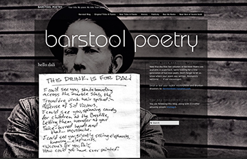 Barstool Poetry