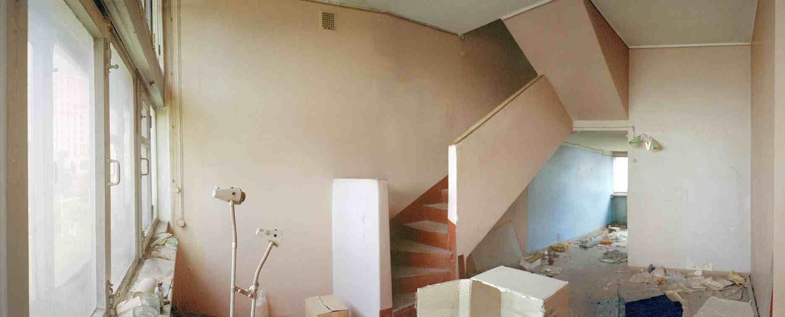 an apartment pre 'restoration'/ 'remont' photograph by Richard Pare
