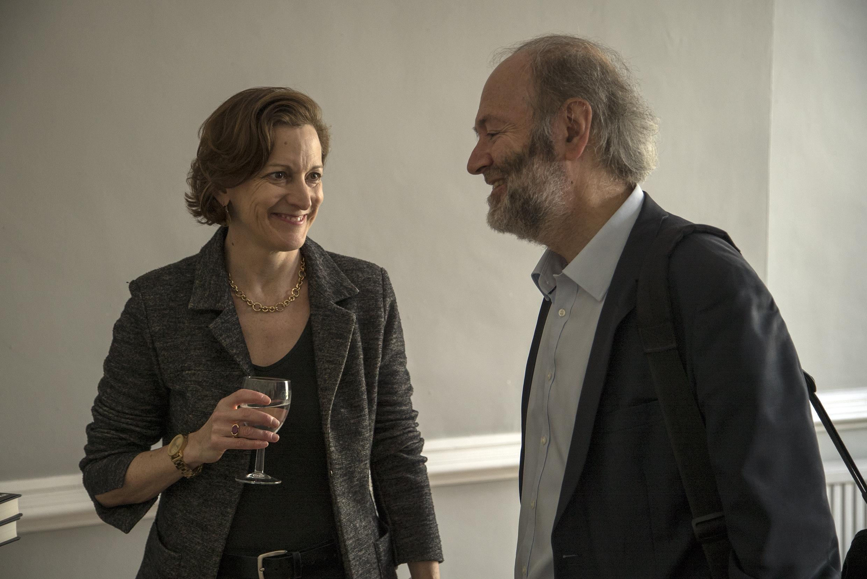 Anne Applebaum and Simon Franklin