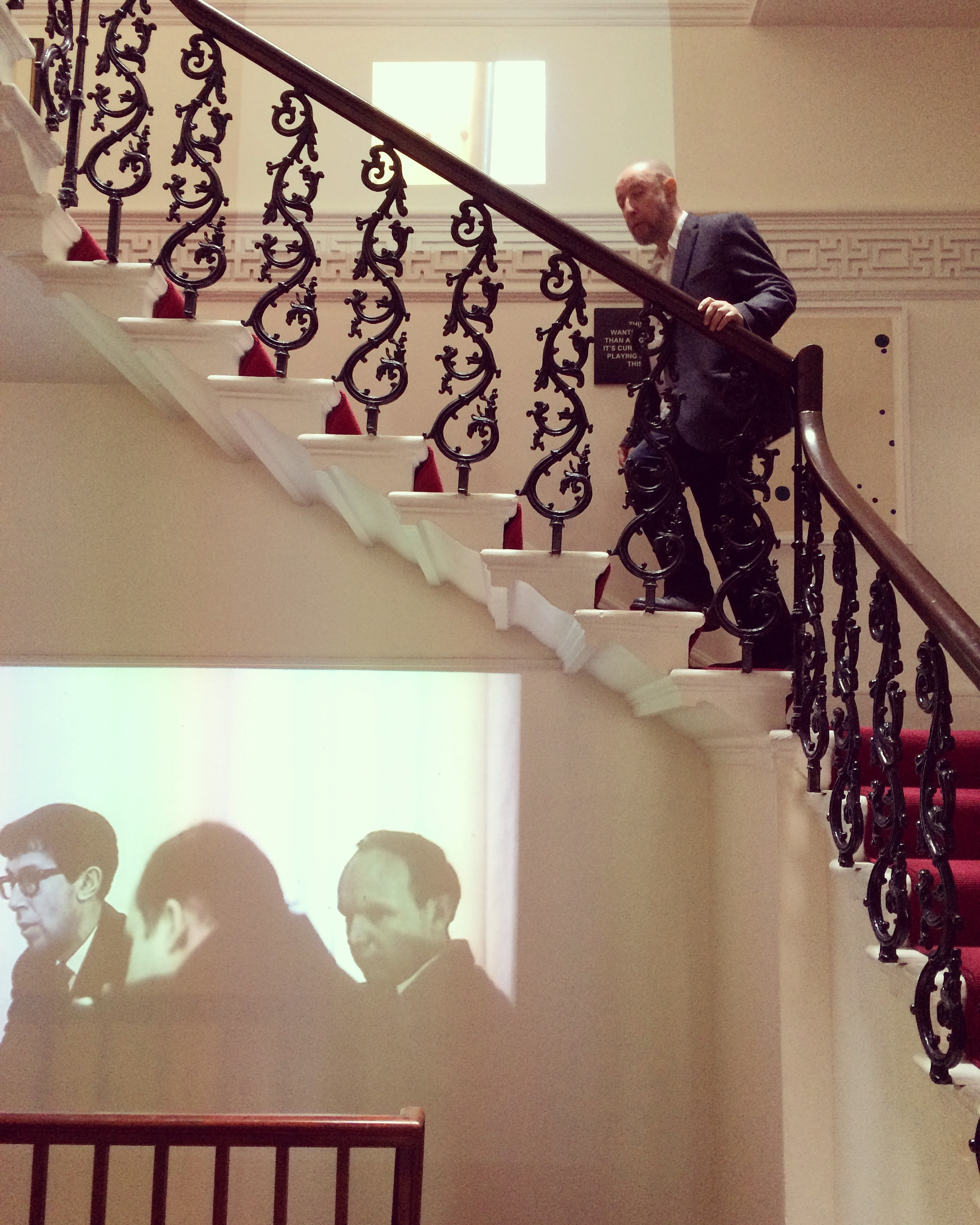 Alexander Brodsky in Pushkin House. Photograph: Clem Cecil