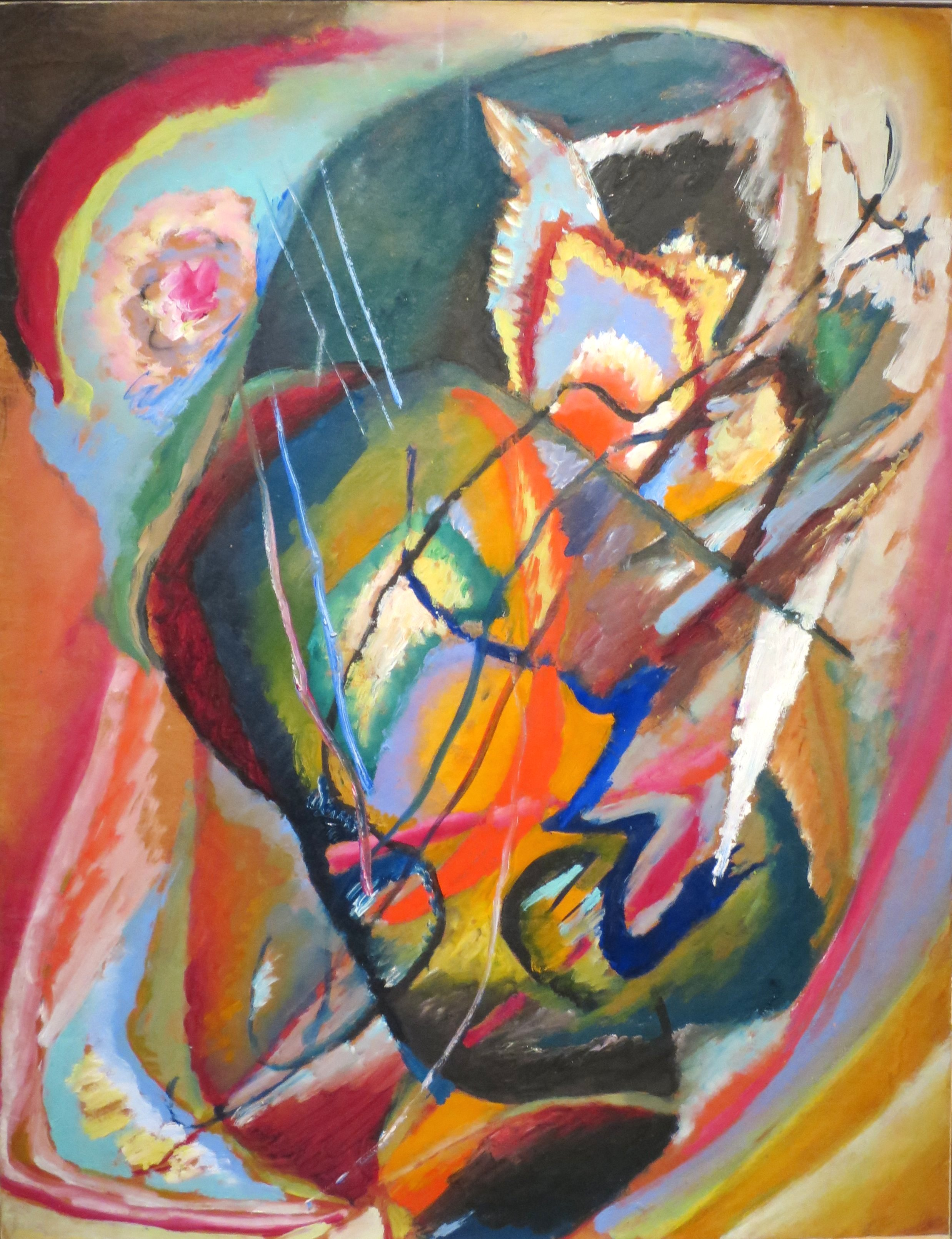 Untitled Improvisation III , 1914, by Wassily Kandinsky (1866-1944)