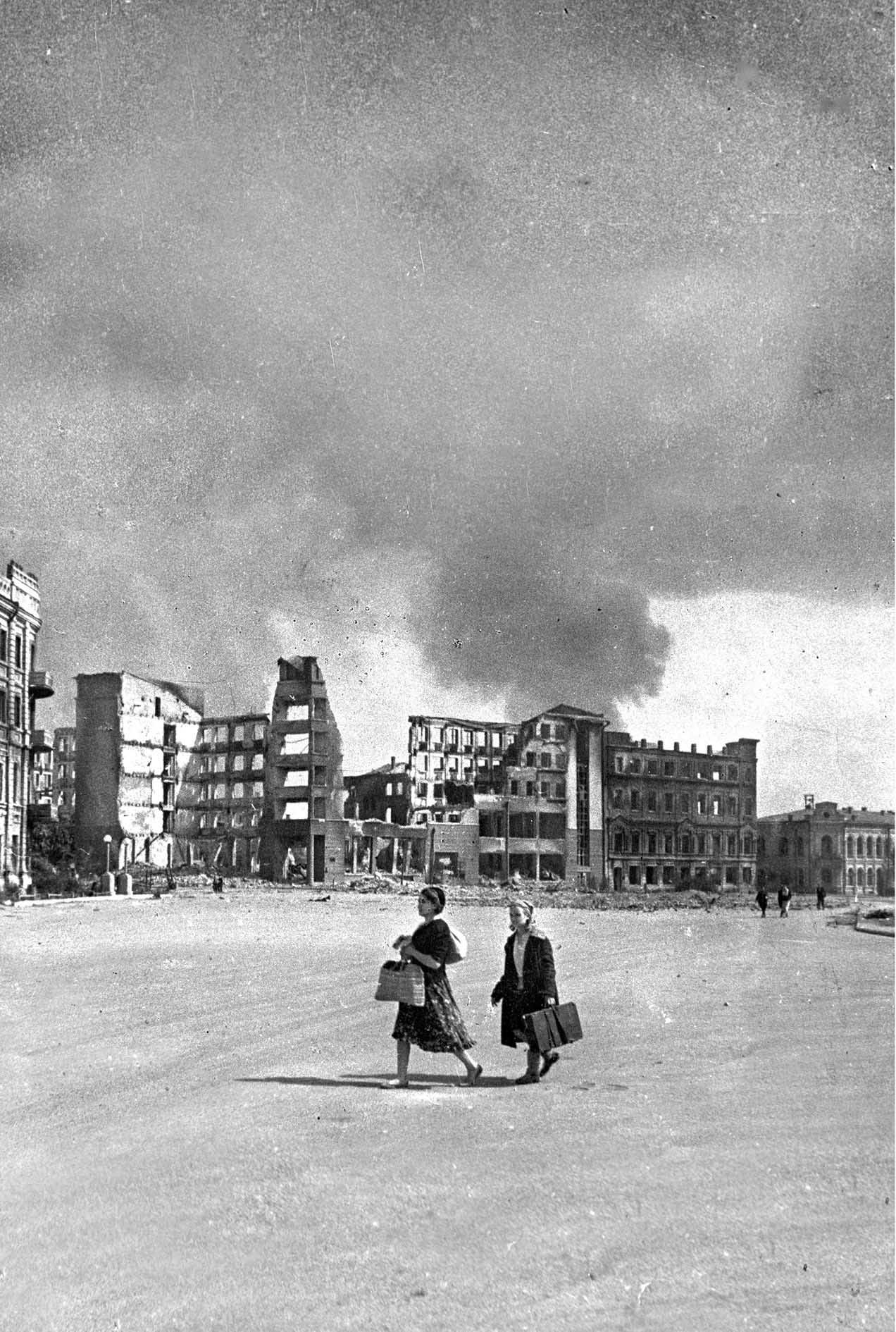 Stalingrad during the siege.