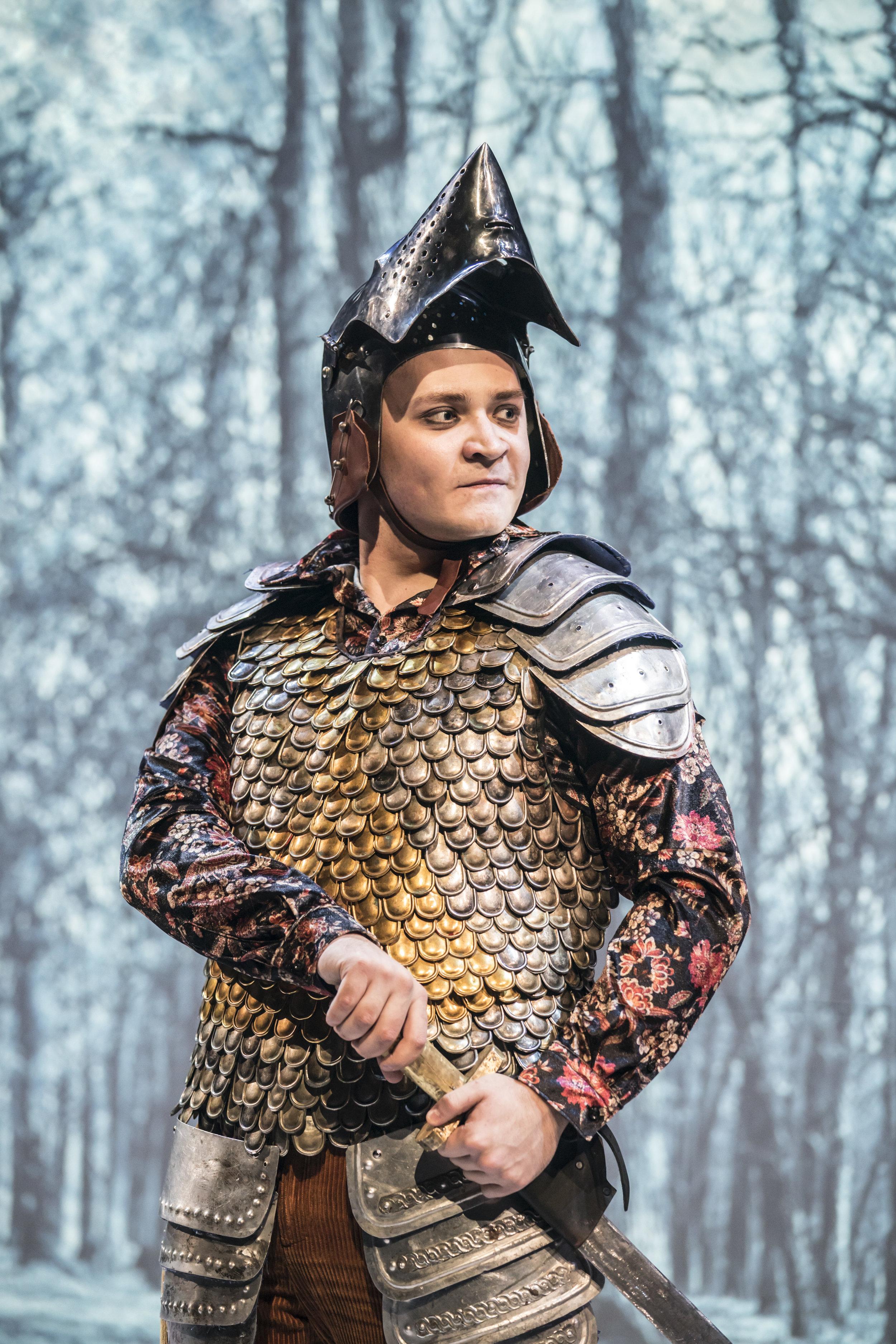 Nazar Safronov as Rafe. Image © Johan Persson