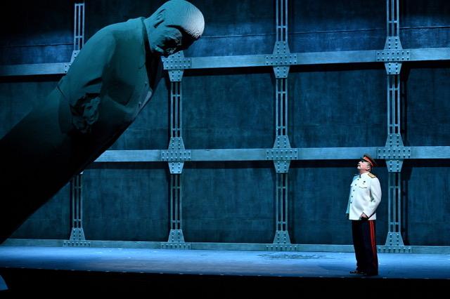 Pyotr Semak in 'Stalin. The Genesis'. Image © Vladimir Postnov