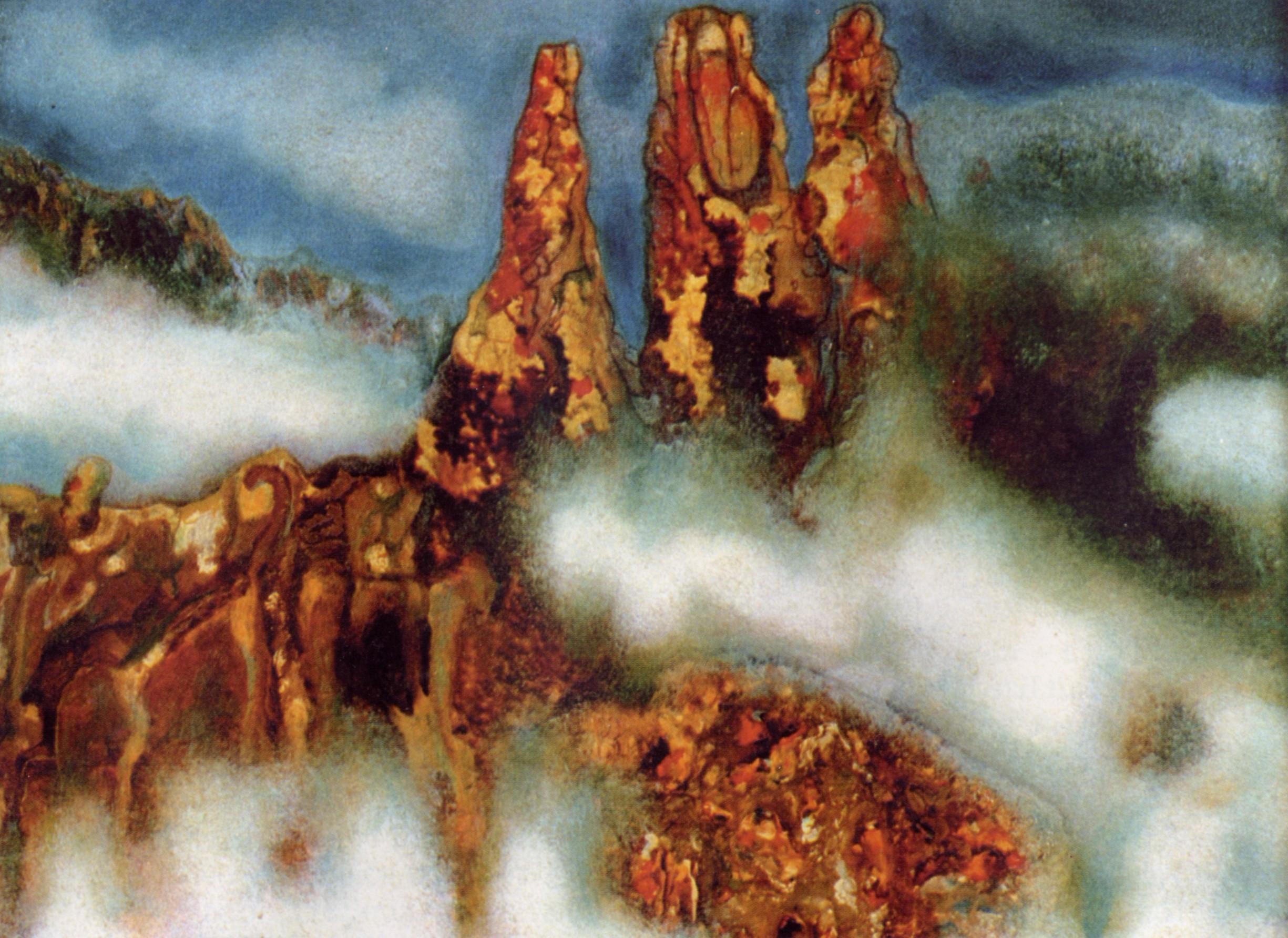 Painting by Ali Khashagulgov