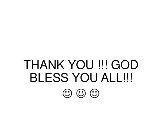 Thank You & God Bless — Balwyn Anglican