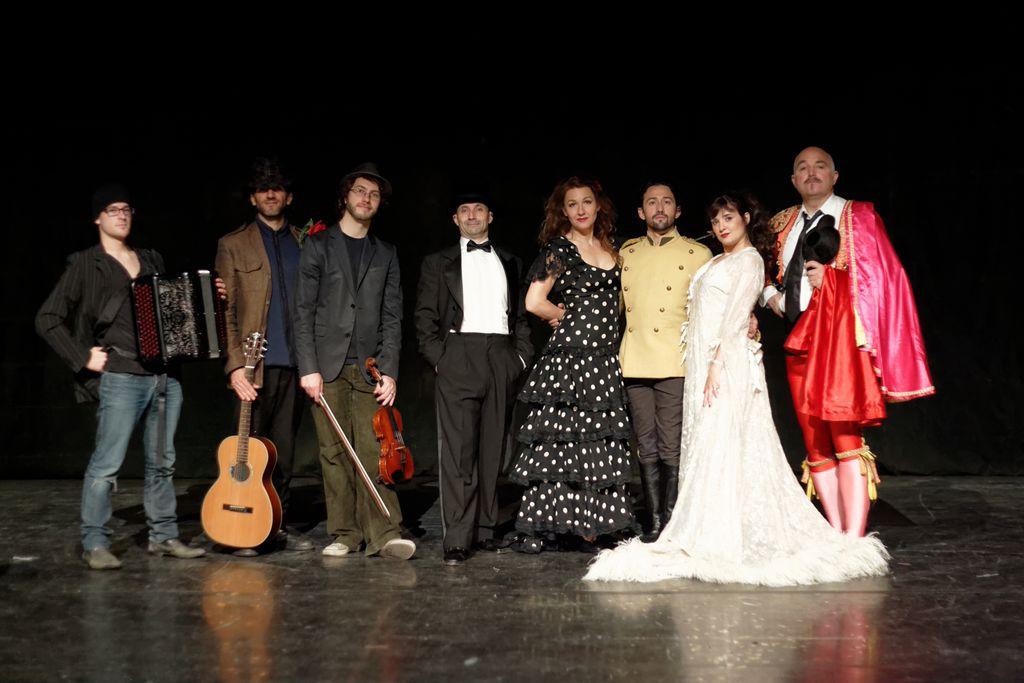 avec Julien Gonzales, Romain Fitussi, Antoine Delprat, Bertrand Monbaylet, Sophie Sara, Mathieu Sempéré, et Philippe Scarami