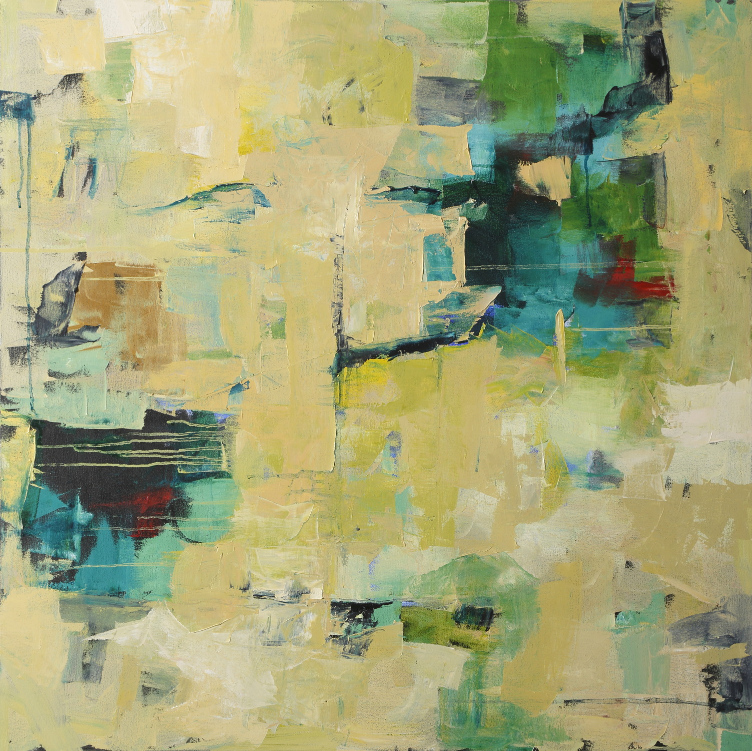 Sweet Secrets  36 x 36  Oil on canvas  Sold