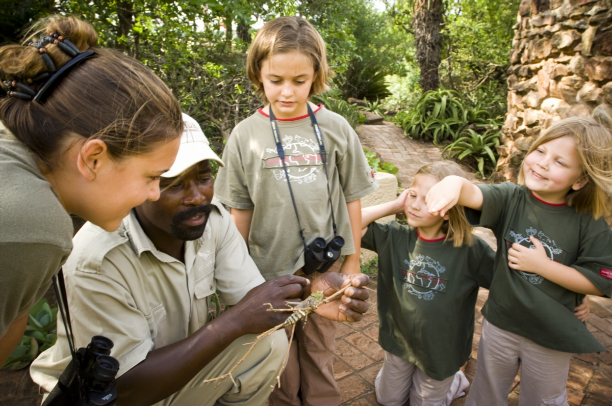 Kids in the Wild Child program for junior trackers
