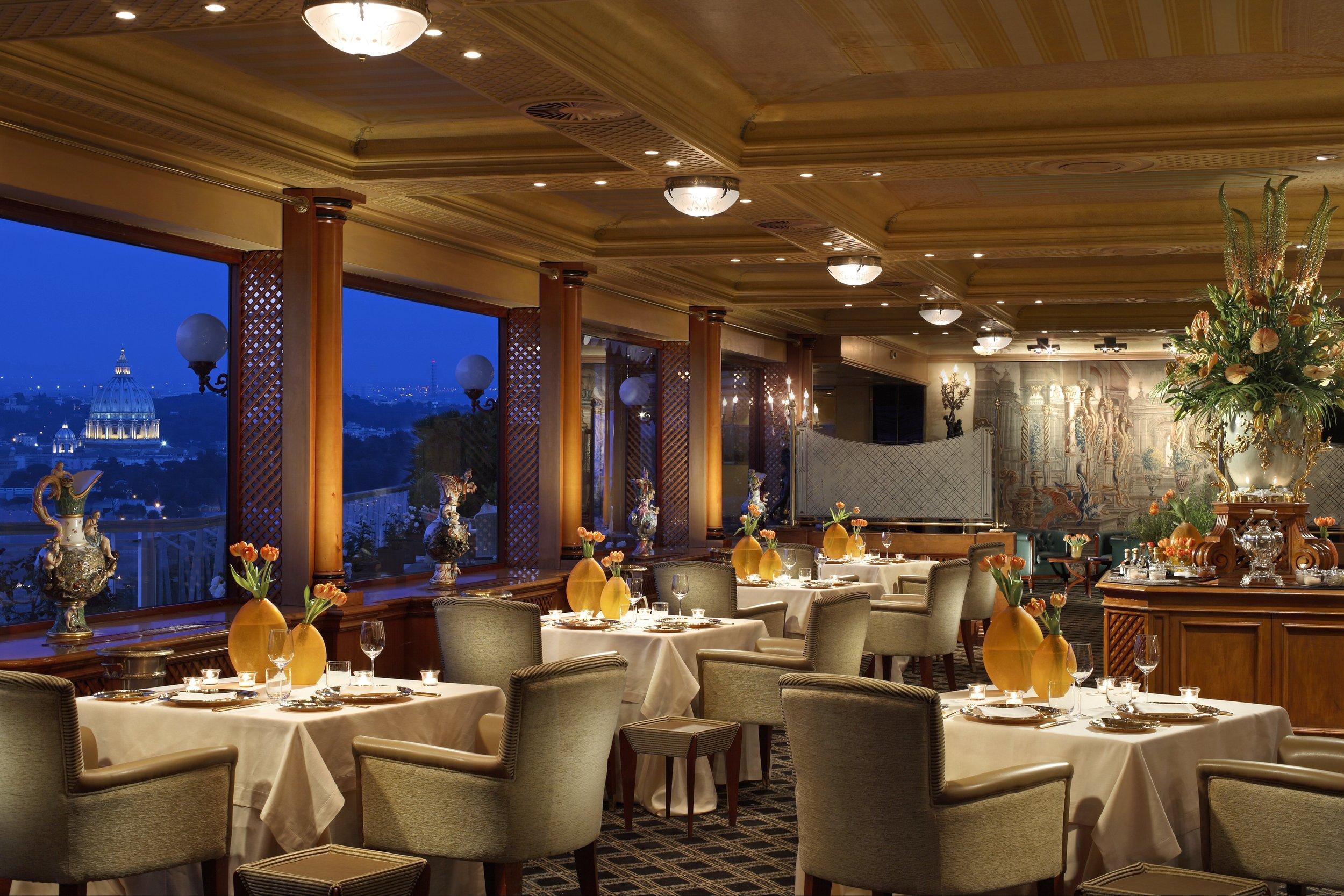 La Pergola, the Cavalieri's Michelin-starred restaurant