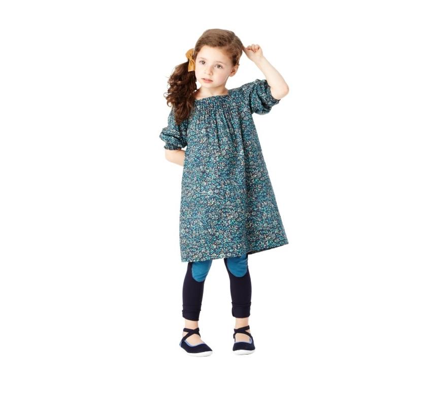 Winnie Dress in Eleonora Print