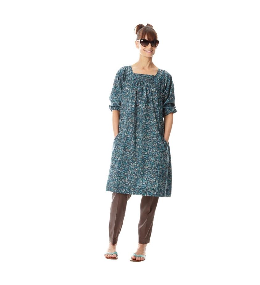 Birdie Dress in Eleonora Print