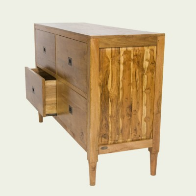 Tropical Salvage Teak Dresser and Changing Table (Indonesia)