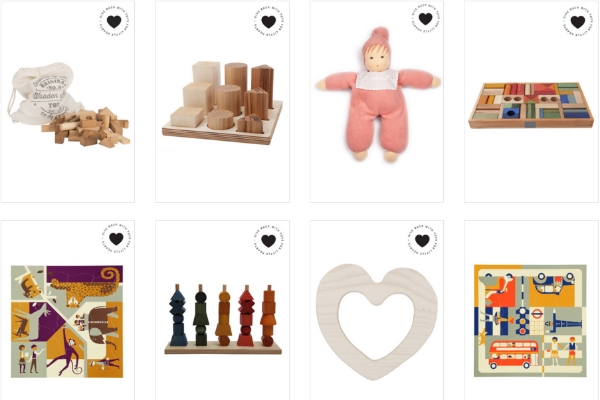 The  Toys for Little Hearts  collection, which supports UCSF Benioff Children's Hospital