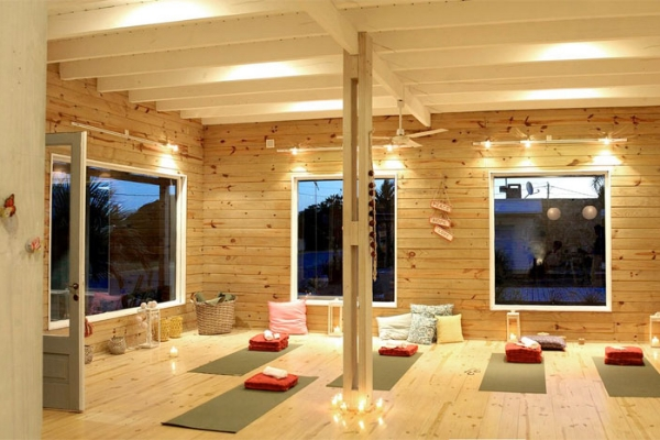 Yoga for Bad People at the Shack Yoga, Jose Ignacio from February 14 - 17. Photo courtesy The Shack Yoga.