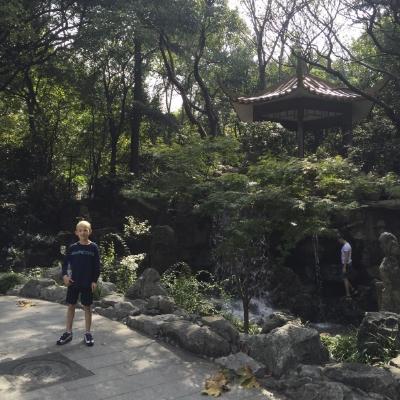 Nick in Shangahi