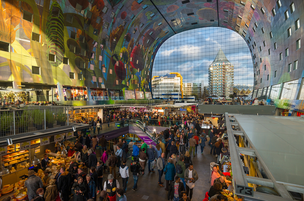 The Markthal Rotterdam. Image by mihaiulia / Shutterstock.com