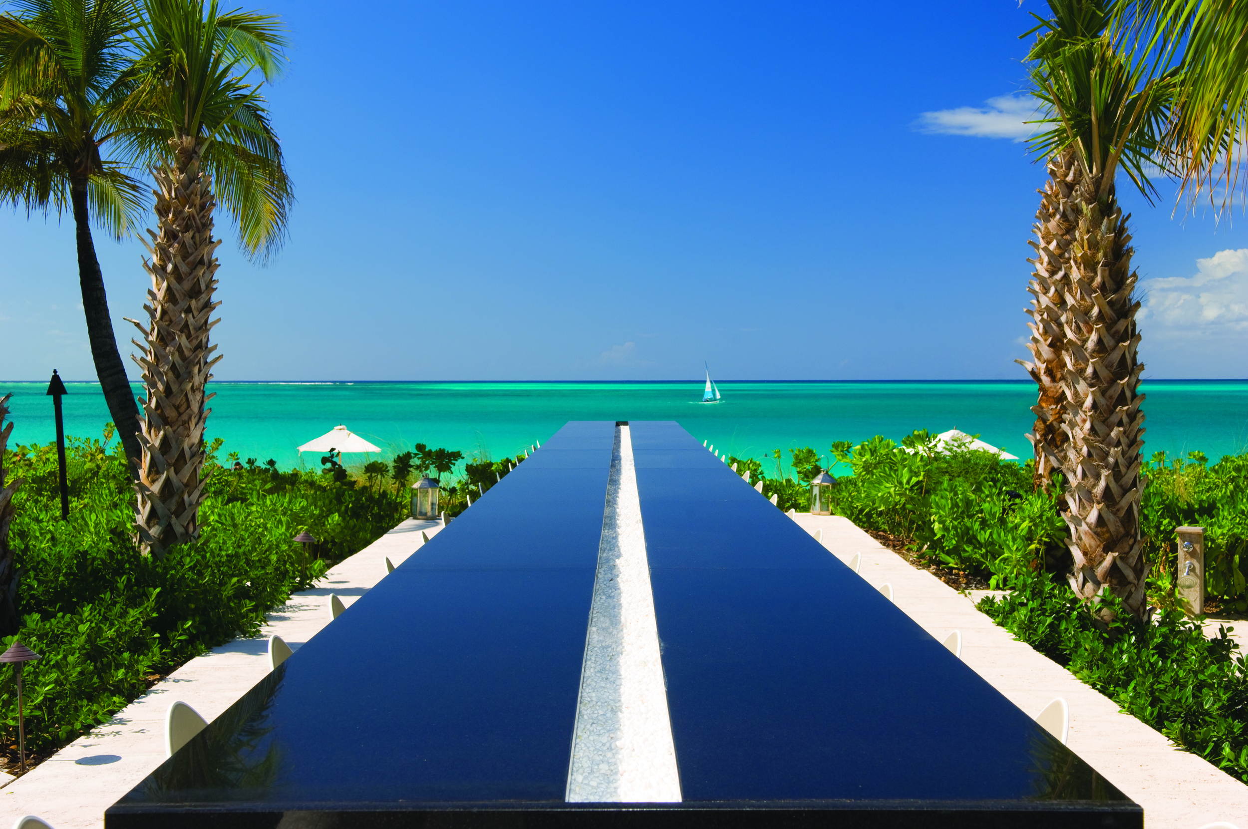 One of the many gorgeous view from Grace Bay Club.