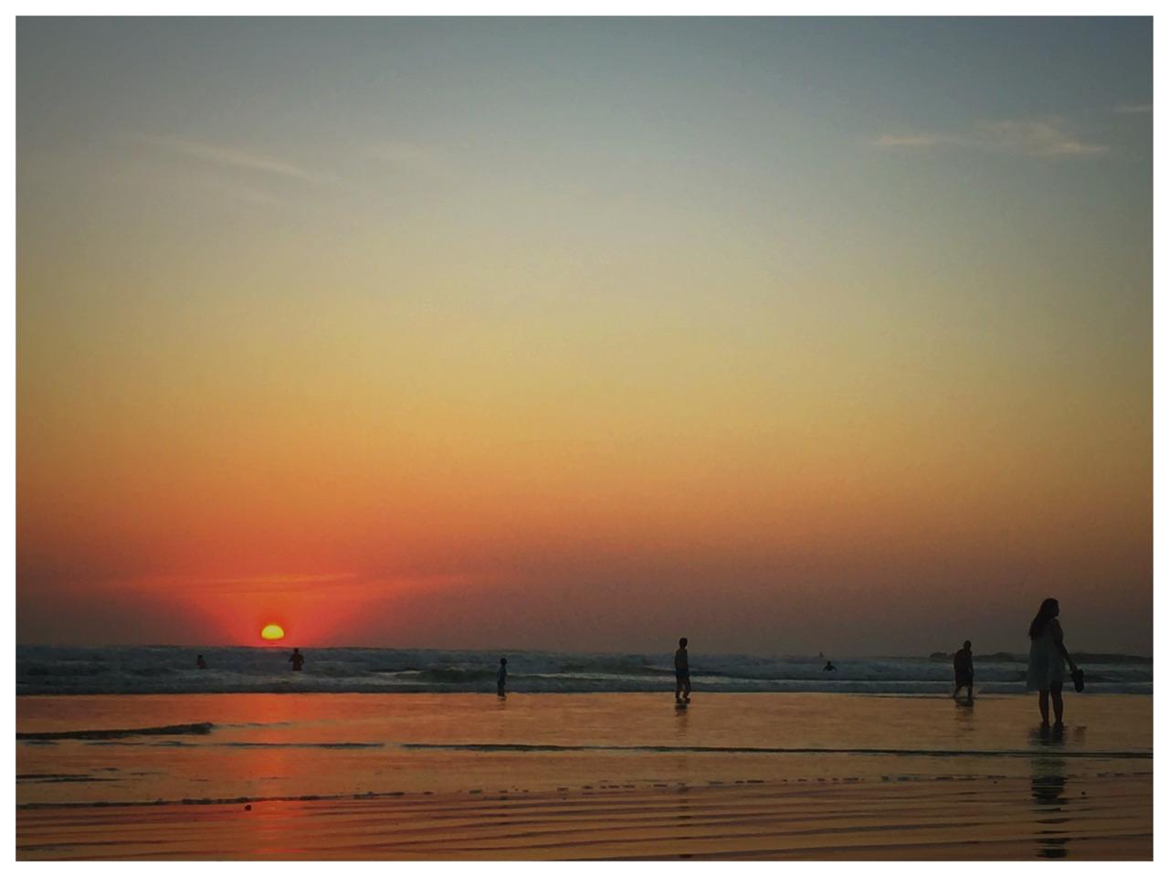 Sunset in Nosara
