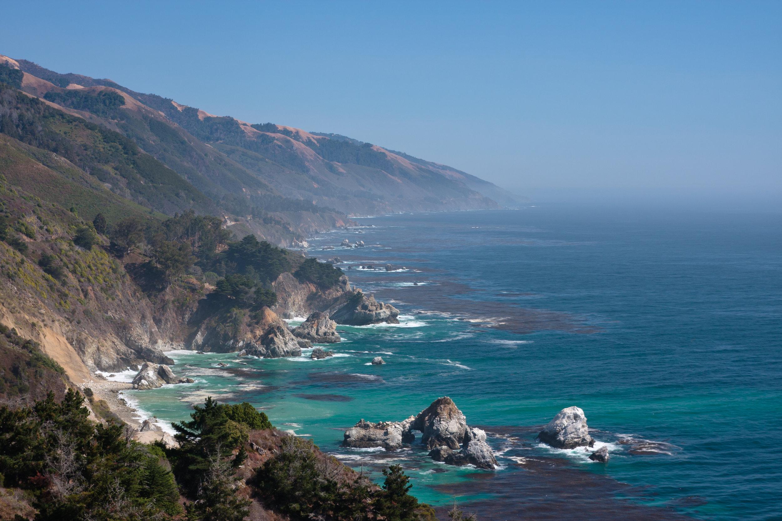 Big Sur coastline; photo by Radoslaw Lecyk/Shutterstock