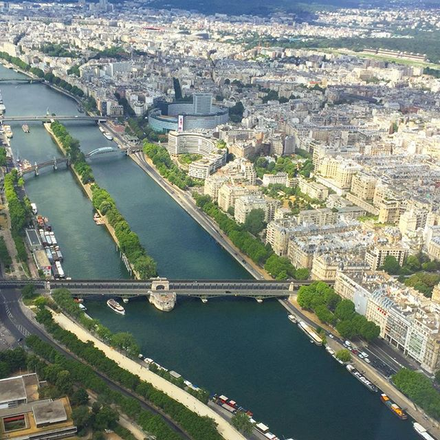 A bird's eye view of one of our favorite cities on earth #jadoreparis #fromwhereistand  #getpassported