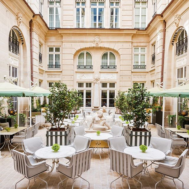 News alert 🚨 Paris' legendary @rwcrillon has reopened following a $200-million renovation. We can't wait to get a look in person and are drooling over the pictures in the meantime 🇫🇷🥂#getpassported #paris