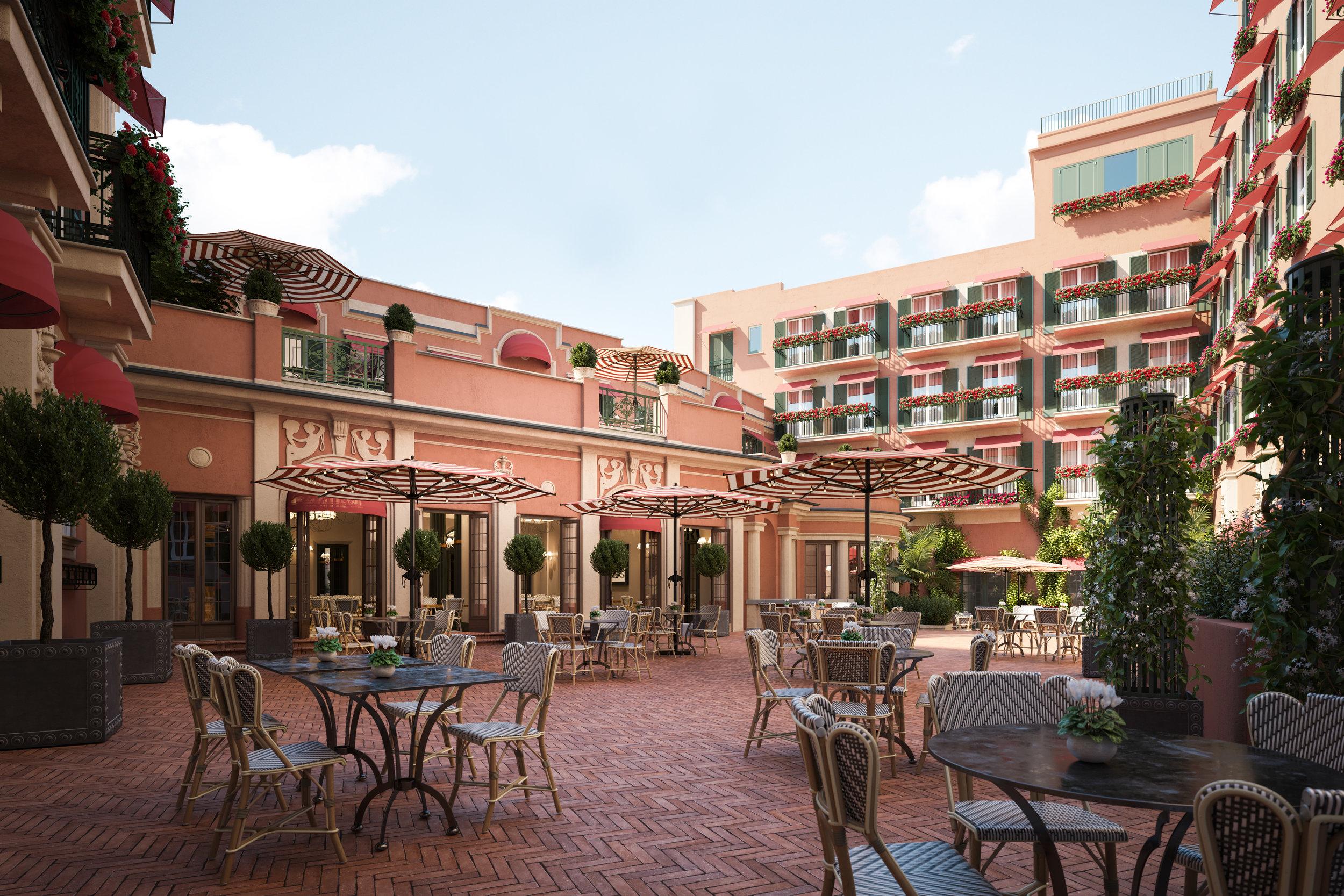 RFH Hotel de la Ville Courtyard 2 Jan 2019.jpg