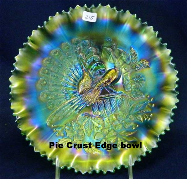 Pie Crust edge bowl