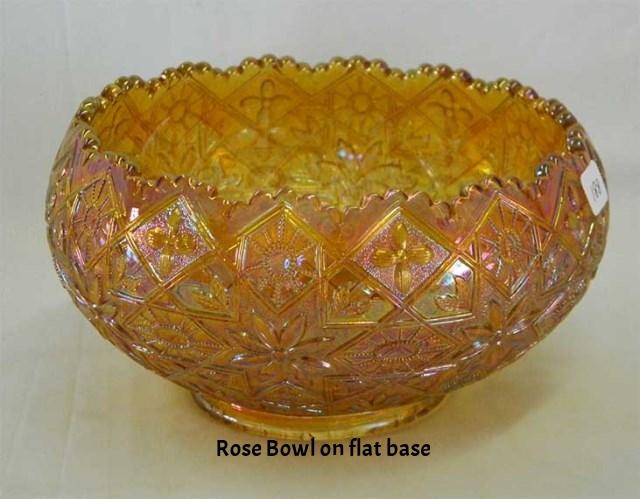 Rosebowl, cupped